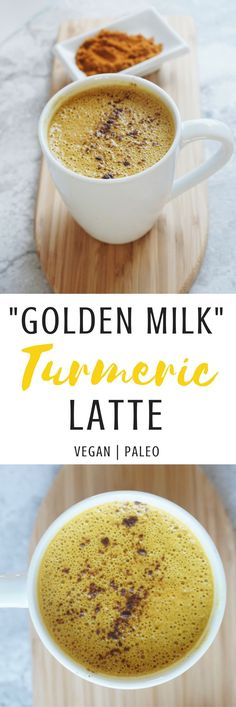 """7 Health Benefits of Turmeric & How to Make a Golden Milk Turmeric Latte (Recipe) 