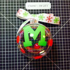 Simple Fun Crafter: Vinyl ornament