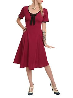 Hell Bunny Alveira Raspberry Dress  c9a1f4d7c