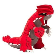 Buy a Groudon Pokemon Plush