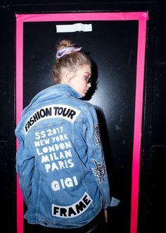 Gigi Hadid Source || Gigi backstage at the Marc Jacobs SS17 fashion during NYFW - Sep. 15, 2016