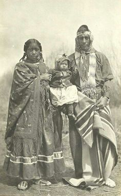 Ute natives from the Great Basin