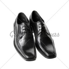 Classic black & brown dress shoe