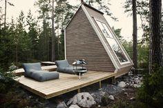 Backyard Tiny Cabin Retreat