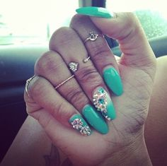 "Just for Allison ! Your ""knuckle rings, and your long rounded nails!!"