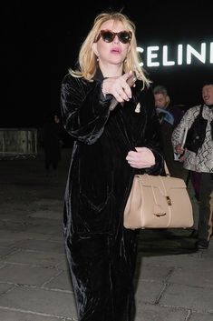 Courtney-Love with #celine 16 bag
