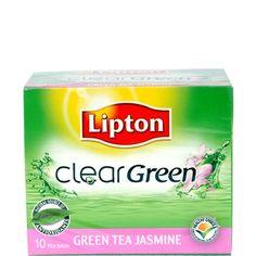 Lipton Clear #GreenTea  #Jasmine 10S www.tradus.com/lipton-clear-green-tea-jasmine-10s/p/GRON6QX2HRUWWILM