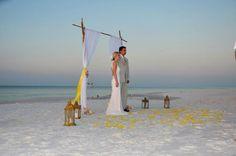Sunrise ceremony @Surfside Brides All Pictures, Sunrise, Wedding Ideas, Beach, Weddings, Beautiful, Honeymoons, Mariage, Seaside