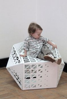 polyhedron chair by another architect