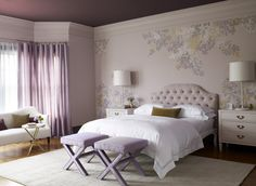 The secret to making monochromatic rooms interesting is contrast. By varying the shades of one color, it can create an interesting visual effect.  In fact a monochromatic color scheme can be subtle and subdued when using a soft color, or dramatic and daring when opting for a rich hue.