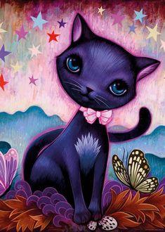 Heye Puzzle - Siyah Kedicik (1000 parça)