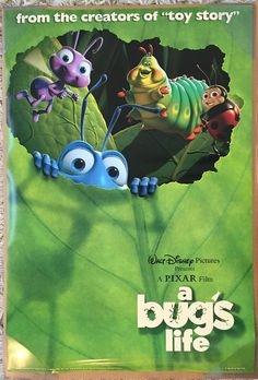 A Bug's Life is a 1998 American computer-animated comedy film produced by Pixar Animation Studios for Walt Disney Pictures. Directed by John Lasseter, the film involves a misfit ant, Flik, who is. Disney Pixar, Disney Bounding, Kevin Spacey, Walt Disney Pictures, Pixar Movies, Cartoon Movies, Office Film, Box Office, Disney Movie Posters