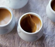 Salted Caramel Pots de Crème Recipe | Epicurious.com