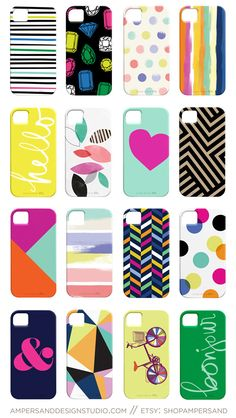 iPhone 4 or 5 case - 16 fun designs by ShopAmpersand!