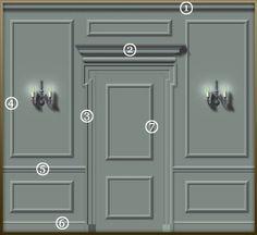 Georgian doors and panelling