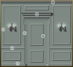 Georgian doors and panelling