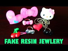 "How to make ""fake"" resin jewlery items - YouTube"