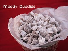 Puppy Chow. Easy and kids love it!