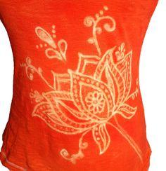 Batik Dye Tank Top | Rit Fabric Dye Clothing Dyeing