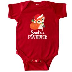 Birthday Woodland Fox 1 Year Old Infant Creeper - Red Christmas Gifts For Friends, Babies First Christmas, 1st Christmas, Baby 1st Birthday, First Birthday Parties, Birthday Gifts, Creepers Outfit, Santa Claus Hat, Baby Bodysuit