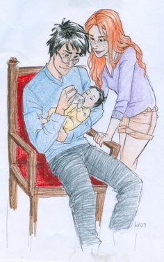 Jamesie-poo  James Potter II and his parents