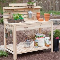 Potting Bench Ikea House Beautiful House Beautiful