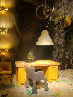 Yellow at Moooi