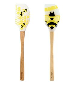 Another great find on #zulily! Honeycomb & Bee Spatula Set by Tovolo #zulilyfinds