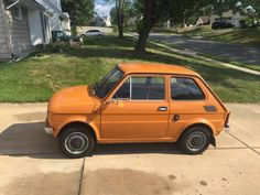 Learn more about Rare in the USA: 1983 Polski Fiat 126 on Bring a Trailer, the home of the best vintage and classic cars online. Fiat 126, Fiat Cars, Car Drawings, Small Cars, Classic Cars Online, Car Girls, Old Trucks, Old Cars, Hot Wheels