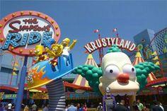 Les Simpsons ont leur parc d'attractions !