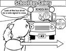 Colouring Image 84 - SCHOOL BUS SAFETY 07