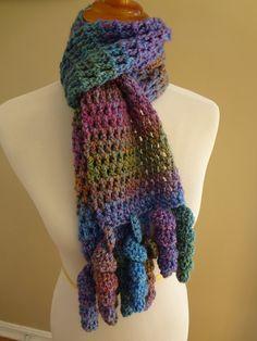 Fiber Flux...Adventures in Stitching: Free Crochet Pattern...Celebration Scarf!