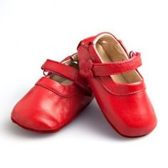 SKEANIE Soft Sole Mary Jane Red