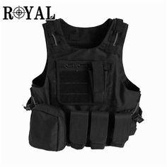 NIJ IIIA Tactical Bulletproof Vest-ROYAL PROTECTION