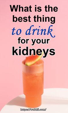 Healthy Kidney Diet, Healthy Kidneys, Kidney Health, Healthy Juices, Healthy Drinks, Kidney Foods, Juicing For Health, Health Diet, Health And Wellness