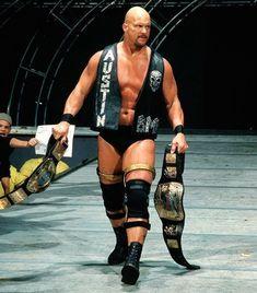 STEVE AUSTIN WWF WRESTLING 8X10 SPORTS ACTION PHOTO S