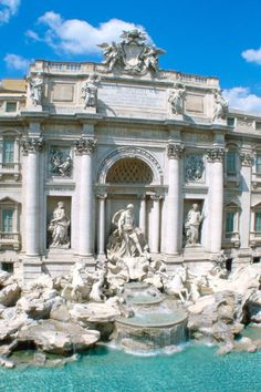 Rome - Fontana di Trevi: my favorite city in the world and my favorite monument in the world.  I would sit here for hours with my Roman friends and just write my heart away. <3