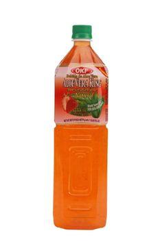 OKF Aloe Vera King Strawberry 1.5 Liter (Pack of 3)...