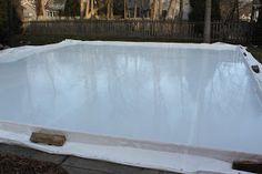 my best friend craig: DIY: BUILDING AN ICE SKATING RINK