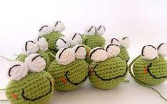Frog amigurumi crochet free pattern patrón gratis