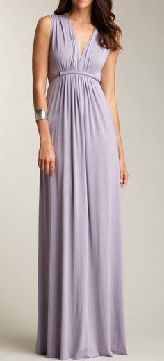 Periwinkle Maxi Dress / rachel pally