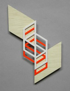 small falling parallelograms by sandra fettingis, via Flickr