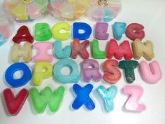액체괴물 알파벳 만들기 - How to make slime alphabet