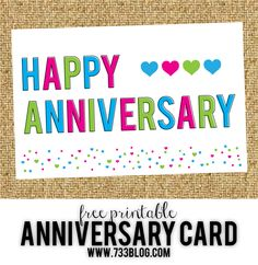 photograph about Anniversary Cards for Her Printable Free known as 44 Most straightforward Printable Anniversary Playing cards photos within just 2017