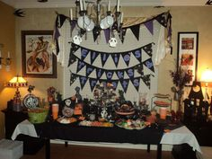 Nightmare Before Christmas  Birthday Party Ideas | Photo 8 of 37