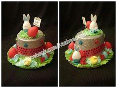 Boys Easter Hat for Easter Bonnet Parade. www.facebook.com/kazbeecreations