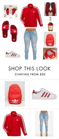 """adidas❤❤❤"" by aleisharodriguez ❤ liked on Polyvore featuring adidas and adidas Originals"