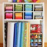 Craft Room Organization: 10 Smart Ways to Store Fabric | Apartment Therapy