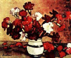 Stefan Luchian (luat de pe Facebook) Post Impressionism, Impressionist, Frasier Crane, Carnations, Art Nouveau, Fine Art, 1 Februarie, Anemone, Paintings