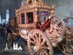 Passeios Culturais em Paris: Galerie des Carrosses do Palácio de Versalhes